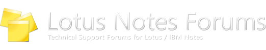 Lotus Notes Forums